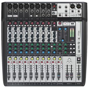 SOUNDCRAFT Signature 12 MTK - MIXER MULTITRACCIA USB CON EFFETTI