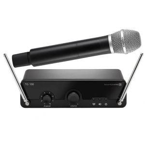 BEYERDYNAMIC TG100H Radiomicrofono Wireless per Canto voce Karaoke e DJ