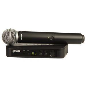 SHURE BLX24E / SM58 Radiomicrofono con capsula SM58