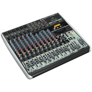 BEHRINGER QX1832USB -MIXER 18 IN CON INTERFACCIA USB E FX