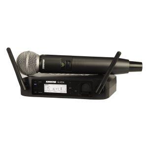 SHURE GLXD24E/SM58 Radiomicrofono Digitale Wireless con SM58