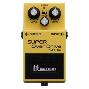 BOSS SD-1W Super Overdrive (Waza Craft) Effetto a pedale chitarra