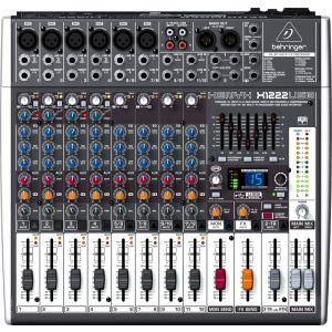 Behringer Xenyx X1222usb Mixer Audio con Effetti DJ e Karaoke