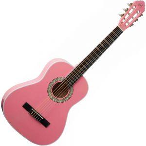 EKO CS5 Chitarra Classica 3/4 Rosa per bambini da studio principianti