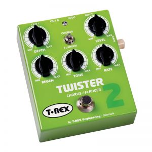 T-REX TR10025 TWISTER 2 - CHORUS/FLANGER PER CHITARRA