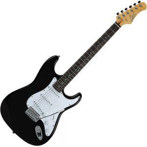EKO S300 BK Chitarra elettrica tipo Stratocaster