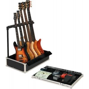 ROCKCASE RC23140B - Gigboard Borsa da trasporto fino a 5 chitarre e pedali