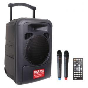 KARMA BM 892 - DIFFUSORE AMPLIFICATO C/2 RADIOMICROFONI