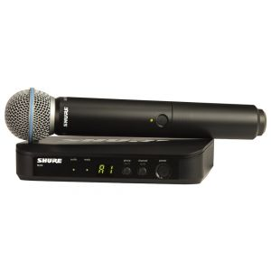 SHURE BLX24E/B58 Beta58 Radiomicrofono con capsula Beta58