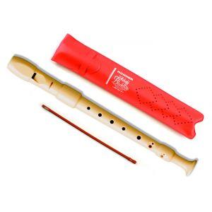 HOHNER 9517 Flauto Dolce Soprano / Diteggiatura Barocca con astuccio
