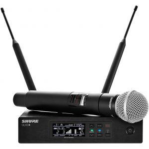 SHURE QLXD24E/SM58 - RADIOMICROFONO PALMARE UHF