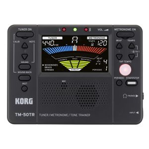 KORG TM-50TR - Accordatore / Metronomo / Tone Trainer Black