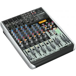BEHRINGER QX1204USB -MIXER 12 IN CON INTERFACCIA USB E FX