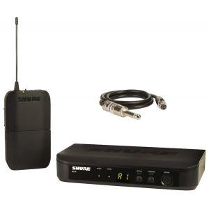 SHURE BLX14E Sistema Wireless Trasmettitore e Ricevitore per Chitarra / Basso