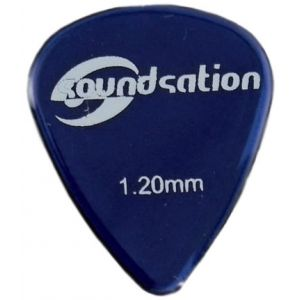 SOUNDSATION SPT-600-120 - Plettri clear nylon 1.20 (72 pezzi)