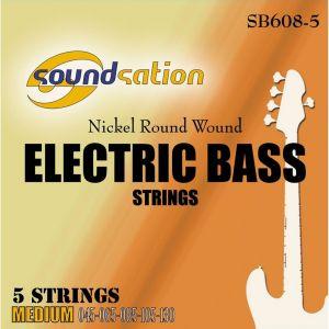 SOUNDSATION SB-608-5 - Muta per basso 5 corde 45-130