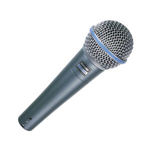 Shure Beta 58A microfono per voce dinamico e supercardioide