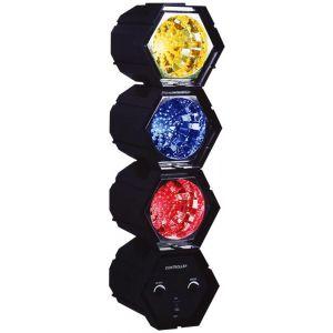 Karma Dj 318 LED - Kit Tre Luci Psichedeliche Colorate a Leds
