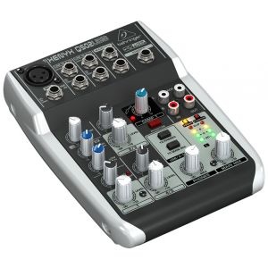 BEHRINGER XENYX Q502 USB - MIXER 5 INGRESSI CON INTERFACCIA USB