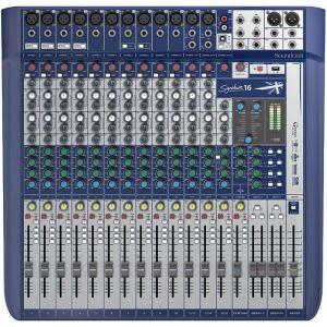 SOUNDCRAFT Signature 16 - MIXER 16 CANALI USB CON EFFETTI