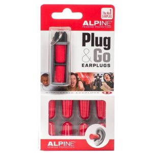 ALPINE EarPlug PLUG & GO CON TRAVEL BOX - SET 10 AURICOLARI