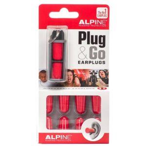 ALPINE EarPlug PLUG & GO CON TRAVEL BOX - SET 10 AURICOLARI