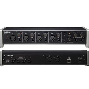 TASCAM US 4x4 - Usb Interfaccia Audio Usb/Midi 4 Ch. Compatibile Iphone Ipad