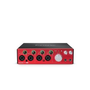 Focusrite Clarett 4 Pre USB - Interfaccia Audio MIDI/USB
