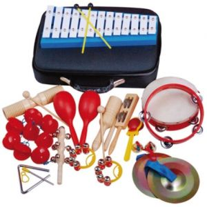 Oqan QPP-17 - Pack Percussioni per uso scolastico