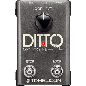 TC HELICON DITTO MIC LOOPER - Loop Station a Pedale