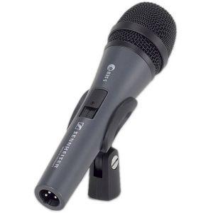 SENNHEISER e835S microfono dinamico cardioide con interruttore on/off borsa e supporto
