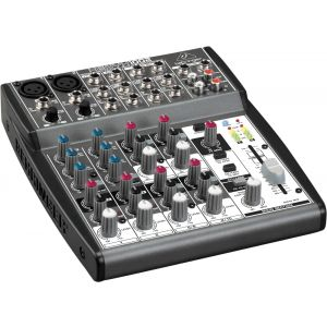 BEHRINGER XENYX 1002 Mixer con 10 canali DJ e Karaoke