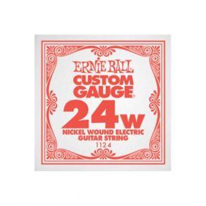 ERNIE BALL 1124 - Singola per Elettrica Custom-Gauge (024w)