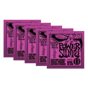 ERNIE BALL 2220 - Set di 5 Mute per Elettrica Power Slinky (011/048)
