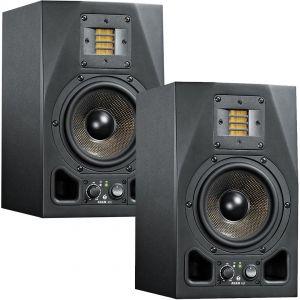 Adam A5X Coppia Monitor da Studio Attive Dj Casse Acustiche Amplificate Nere