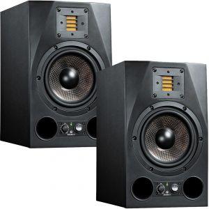 Adam A7X Coppia Monitor da Studio Attive Dj Casse Acustiche Amplificate Nere