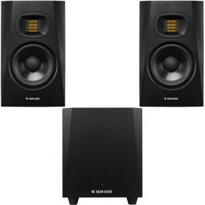 Adam T7V Set - Coppia Monitor con Subwoofer da Studio T10S