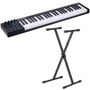 Alesis V49 Bundle Tastiera Controller MIDI / USB 49 Tasti con Supporto
