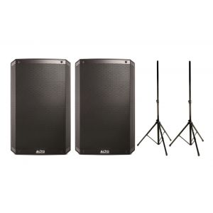Alto Professional TS315 (Coppia) con Speaker Stand in Omaggio 2000W