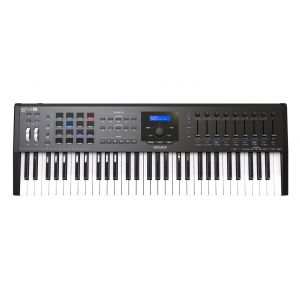 Arturia KeyLab 61 MKII Black - Controller Tastiera MIDI/USB 61 Tasti