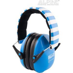ALPINE Muffy Blue Cuffia per bambini per la protezione uditiva