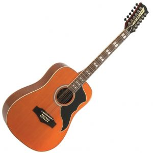 EKO RANGER XII VR EQ NATURAL TOP STAINED - Chitarra Elettroacustica 12 Corde
