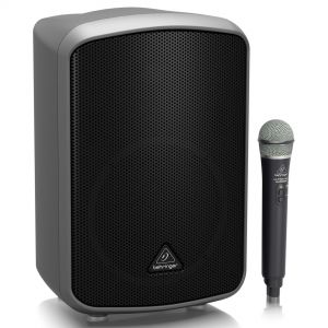 Behringer MPA200BT - Sistema Pa Portatile Bluetooth MP3 USB Microfono Wireless 200W