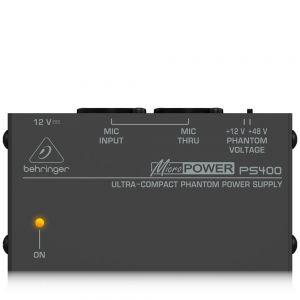 BEHRINGER PS400 MICROPOWER - ALIMENTATORE PHANTOM