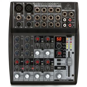 Behringer Xenyx 1002FX - Mixer 10 Ch con Processore Effetti Karaoke