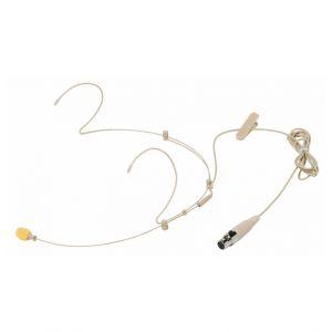 Microfono ad Archetto HS100SU Professionale per i Radiomicrofoni Shure Color Carne
