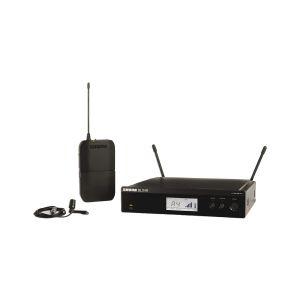 Shure BLX14RE/CVL - Sistema Wireless con Microfono Lavalier Condensatore Cardioide