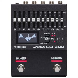 Boss EQ 200 Equalizzatore Grafico a pedale per chitarra