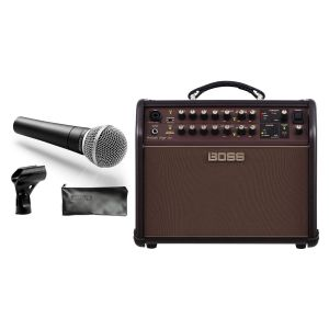 Boss Acoustic Singer Live con Shure SM58