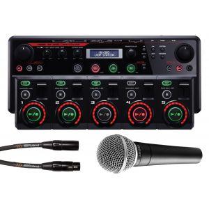 BOSS RC505 Loop Station Tabletop / SHURE SM58 Microfono Dinamico Professionale / Cavo Microfonico XLR/XLR 4.5mt